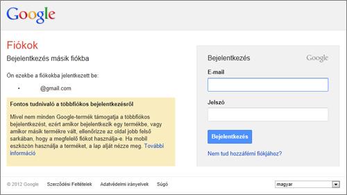 Belépés gmail Gmail bejelentkezés